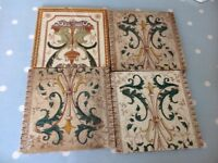 ANTIQUE FIREPLACE TILES, IN GOOD CONDITION ,AND LOVELY