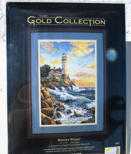 Rocky Point - counted cross stitch