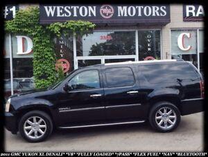 2011 GMC Yukon Denali XL *V8 *FULLY LOADED *7PASS *FLEX FUEL *BT