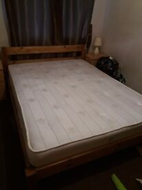 Double bed for sale. Almost new. Excellent condition