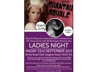 Ladies night in aid of teens cancer unit