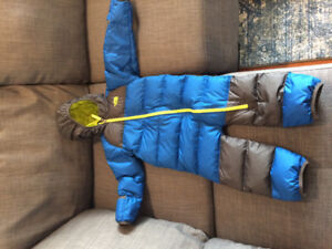 North Face Lil Snuggler snowsuit 18-24m