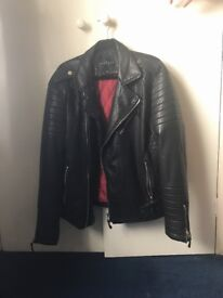 Couture club real leather jacket XL