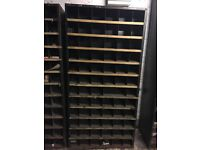 Dexion pigeon hole shelving