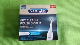 NEW Dental Toothbrush pro clean & polish system