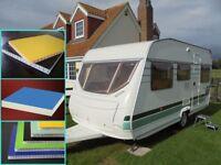 Manufatuer GRP panel for caravan