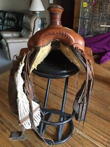 Eamors high river saddle