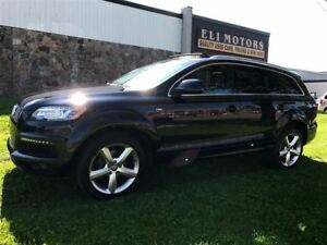 2014 Audi Q7 3.0L TDI PROGRESSIV. S-LINE. NAVIGATION.REAR VIEW