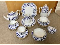 Blue Colonel Spode Collection