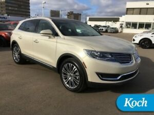 2016 Lincoln MKX Reserve  Certified Pre-Owned, Warranty, Low kms