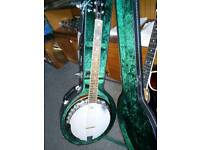 6 string 'banjo'.superb condition and sound.