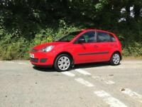 2007 57 FORD FIESTA 1.4 TDCI STYLE 5 DOOR BRIGHT RED ONLY 51000 MILES