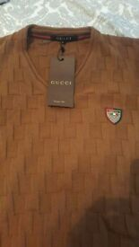 Gucci V Neck jumper XL
