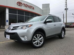 2015 Toyota RAV4 LIMITED AWD, NAVIGATION, TINT, MOONROOF