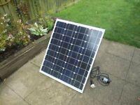 65 Watt Portable Solar Panel