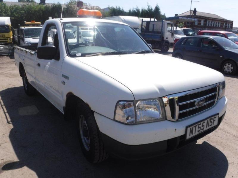 ford ranger regular cab  white manual diesel