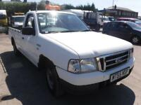 FORD RANGER REGULAR CAB 4X2, White, Manual, Diesel, 2005