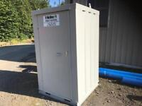 New Steel Portable Toilet with Hot water