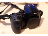 Camera, Samsung NX30 Smart Camera and 16-50mm lens, batteries, charger and remote release cable