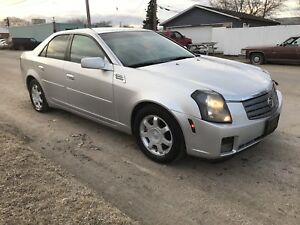 2003 CADILLAC CTS LEATHER//LOW KM//FIRM!