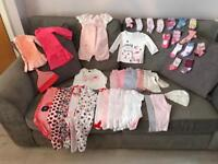BABY GIRL BUNDLE 3-6 MONTHS - USED