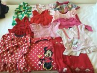 Huge bundle of girl's cloths, shoes and blankets ( from birth to 18 mth-2 years