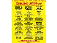 Leeds Festival weekend tickets