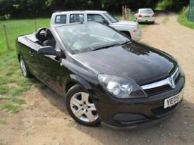 2009 VAUXHALL ASTRA TWIN TOP AIR CONVERTIBLE CONVERTIBLE PETROL