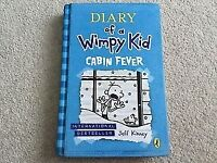 Diary of a Wimpy Kid Cabin Fever by Jeff Kinney Hardback Book
