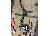 125 cc Pit bike frame for sale all ready to put engine in