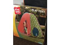 New play tent