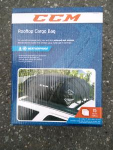 CCM Roof top cargo bag, 15 cu. ft. (425 L), weatherproof!