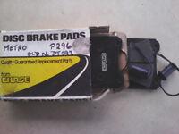 Front brake pads Austin Metro