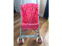 Mothercare pink buggy