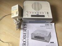 Roberts D.A.B. radio/alarm clock