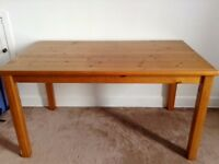 Solid Pine Dining Room Table - Just needs sanded & varnished - £25 ONO