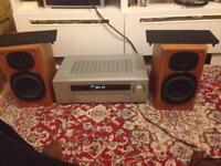 Tannoy revolution 1 speakers and Sony amplifier for sale or swap