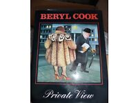 Beryl Cooks Private View book in hardback