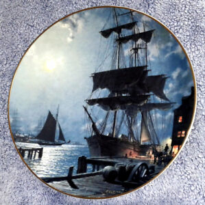 """""""Waiting For The Dawn"""" Collector Plate"""