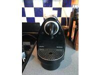 KRUPS NESPRESSO COFFEE MACHINE ESSENZA BLACK