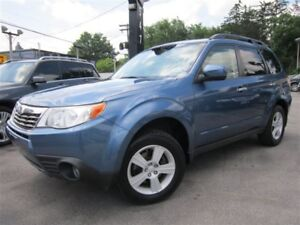 2010 Subaru Forester 2.5 X TOURING/POWER MOON ROOF/MANUAL/AWD !!