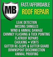 MB Roof Repair-Servicing the GTA (Toronto)/Waterproofing /Roofer