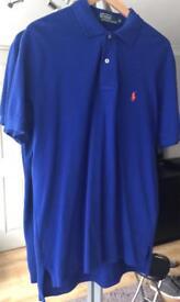 Ralph Lauren Polo Shirt Blue Medium