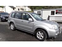 2004 Nissan XTrail 2.2 DCi SVE 4x4 jeep, leather upholster, drives really well, MOT until Jan 18