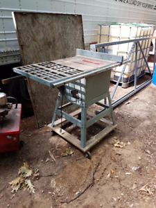 Delta table saw scie table avec pieds roues with stand