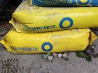 Cement mix all sealed just spare