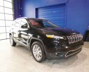 2014 Jeep Cherokee LTD 4X4 W/SUNROOF, NAV