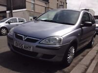 Vauxhall Corsa low Mileage and cheap to insure