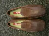 Men prada shoes size 10 eu 44 immaculate condition authentic rrp £450