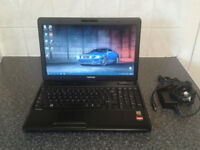"TOSHIBA C660D 15.6""SCREEN WIN10 HOME 64BIT AMD E300 DUALCORE 1.30GHZ 320GB HDD 4GB DDR3 WEBCAM"